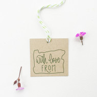 Gift Tags - With Love from Oregon