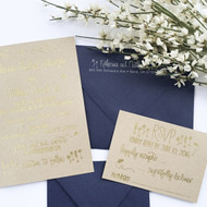 Wedding Invitation Stamp Suite - Mountains
