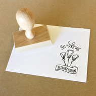 Bookplate Stamp - California Poppies