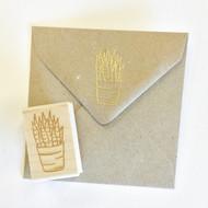 Succulent Stamp - Aloe