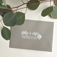 Eucalyptus Address Stamp