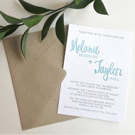 Print & Stamp Invitation Suite