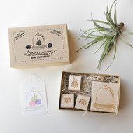 Terrarium Stamp Set with Oh Plesiosaur