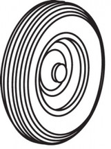 """Wheel, 16"""" Tall X 4"""" Wide. Fits 566261 Tractor Cart"""