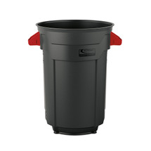 Suncast Plastic Utility Trash Can - 32 Gallon