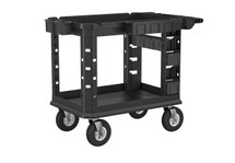 SUNCAST PLASTIC UTILITY CART HEAVY DUTY PLUS PNEUMATIC,19X37
