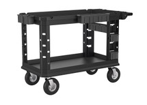 SUNCAST PLASTIC UTILITY CART HEAVY DUTY PLUS PNEUMATIC,26X54
