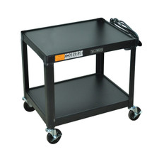 Luxor Av Cart BLACK AV26