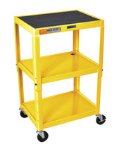 Luxor Av Cart YELLOW AVJ42-YW