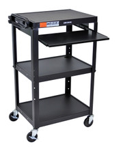 Luxor Presentation Cart BLACK AVJ42KB