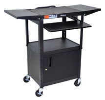 Luxor Presentation Cart BLACK AVJ42KBCDL
