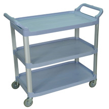 Large Serving Cart 3 shelves GRAY SC13-G