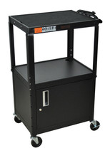 H Wilson Presentation Cart BLACK W42ACE