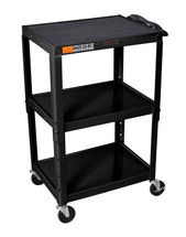 H Wilson Presentation Cart BLACK W42AE