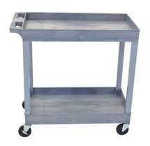 Luxor Two Shelf Utility Cart EC11-G