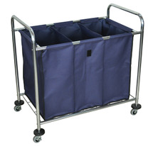 luxor mobile laundry cart hl15 - Laundry Carts