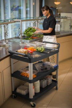 3 Shelf Food Service Cart
