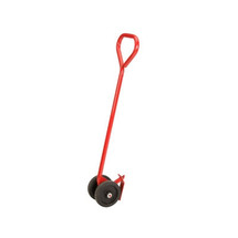 Rubbermaid Commercial Semi-Live Skid Jack Handle, 2000lb Cap, 50in Long, Red