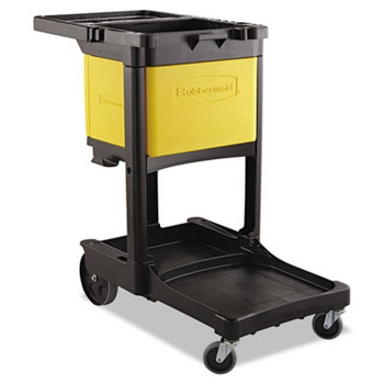 Rubbermaid Commercial Locking Cabinet, For Use With RCP Cleaning Carts