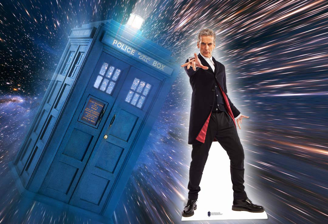 The 12th Doctor Who Peter Capaldi Lifesize Cardboard Cutout