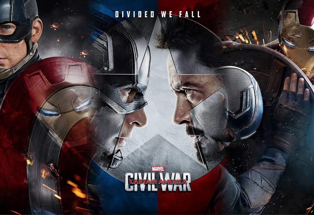 Captain America Civil War Lifeisize Cardboard Cutouts