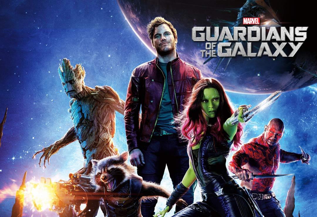 Guardians Of The Galaxy Lifesize Cardboard Cutouts