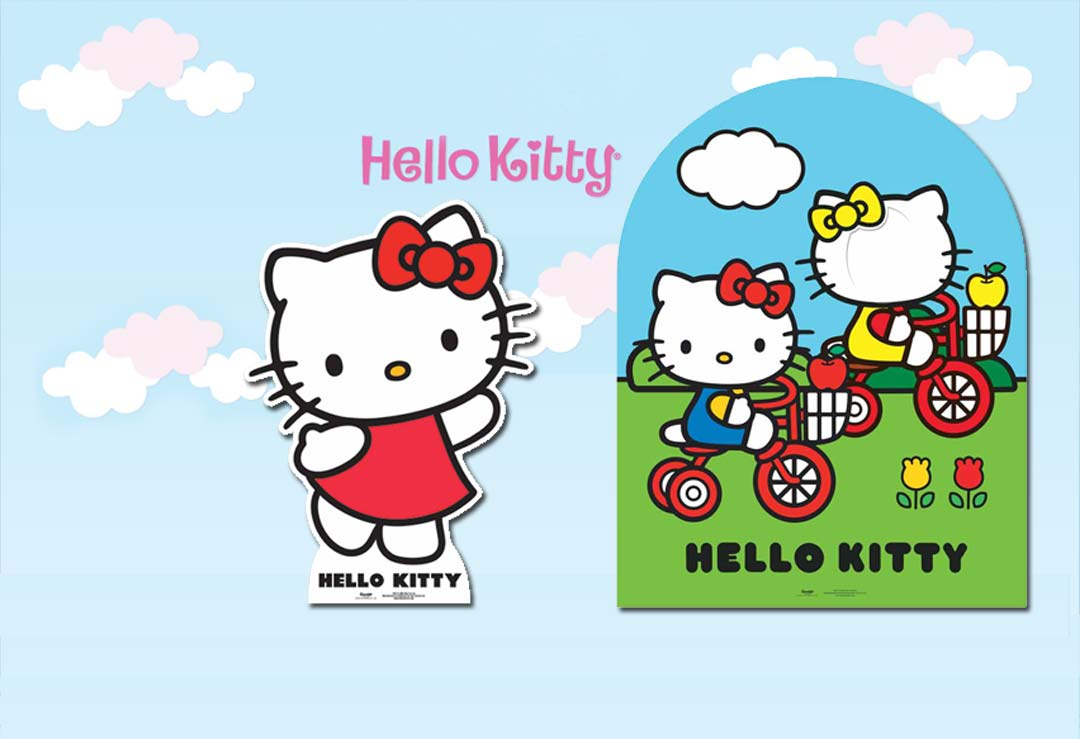 Hello Kitty Cardboard Cutout & Stand-in