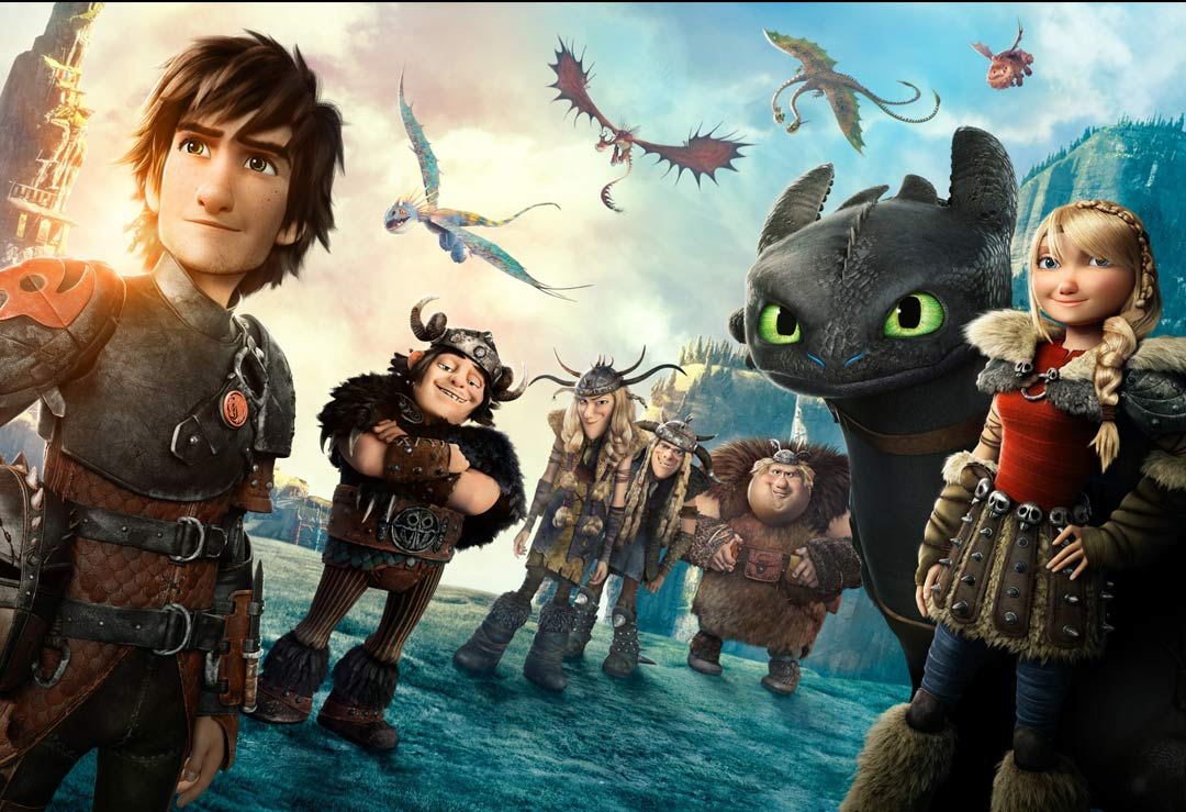 How To Train Your Dragon Lifesize Cardboard Cutouts