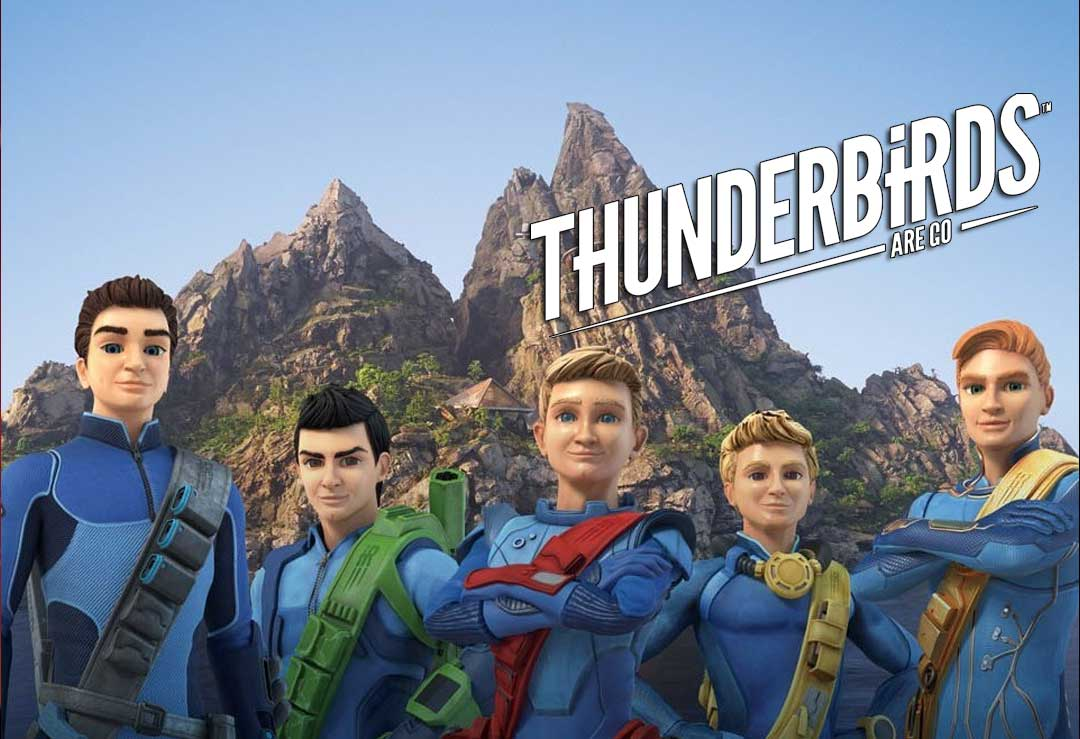 Thunderbirds Are Go! Lifesize Cardboard Cutouts
