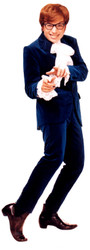 Austin Powers Lifesize Cardboard Cutout
