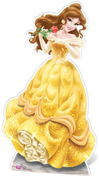 Belle Disney Princess Cutout