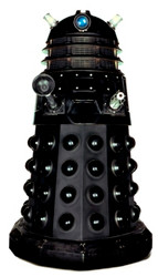 Dalek (Black) (Doctor Who) - Lifesize Cardboard Cutout / Standee