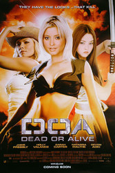 DOA: DEAD OR ALIVE (Regular) (2006) ORIGINAL CINEMA POSTER