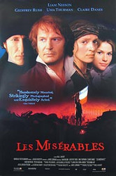 LES MISERABLES (Video) (1998) ORIGINAL CINEMA POSTER