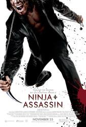 NINJA ASSASSIN  double sided US ONE SHEET (2009) ORIGINAL CINEMA POSTER
