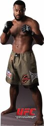 UFC Rashad Evans Lifesize Cardboard Cutout / Standee (Ultimate Fighting Championship)