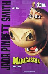 MADAGASCAR (Double Sided Advance Gloria) ORIGINAL CINEMA POSTER
