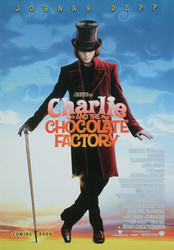 CHARLIE AND THE CHOCOLATE FACTORY (Advance Reprint) REPRINT POSTER
