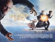 LEMONY SNICKET'S A SERIES OF UNFORTUNATE EVENTS (SINGLE SIDED) ORIGINAL CINEMA POSTER