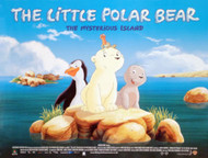 THE LITTLE POLAR BEAR (DOUBLE SIDED) ORIGINAL CINEMA POSTER