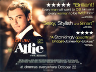 ALFIE ORIGINAL CINEMA POSTER