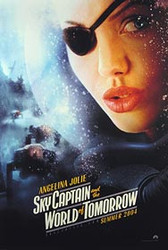 SKY CAPTAIN AND THE WORLD OF TOMORROW (Double Sided Advance) ORIGINAL CINEMA POSTER
