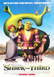 SHREK THE THIRD (Double Sided Advance Style B) ORIGINAL CINEMA POSTER