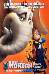HORTON HEARS A WHO! (Single Sided Advance Style B) ORIGINAL CINEMA POSTER