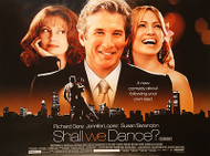 SHALL WE DANCE (DOUBLE SIDED) ORIGINAL CINEMA POSTER