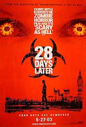28 DAYS LATER (Single Sided Advance) ORIGINAL CINEMA POSTER