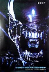 ALIEN VS PREDATOR (Alien Double Sided Advance) ORIGINAL CINEMA POSTER