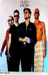 U2 ORIGINAL MUSIC POSTER