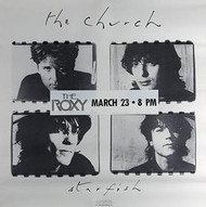 THE CHURCH (STAR FISH '88 Promo Poster) ORIGINAL MUSIC POSTER