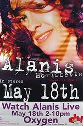 ALANIS MORISSETTE (Album Release) ORIGINAL MUSIC POSTER